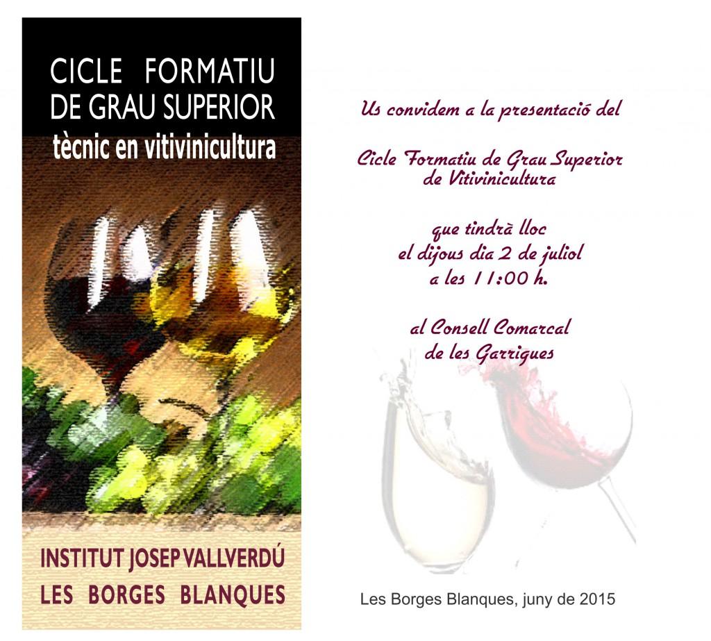 invitació presentació web