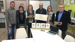 Reconeixement de l'Ajuntament de les Borges a l'INS Josep Valverd_ pels premis al Mobile World Congress